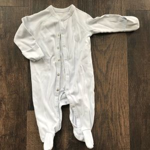 Precious Baby Blue One-Piece Footed/Hand